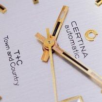 Certina Gold/Stahl 31mm Automatik 5806 115 neu