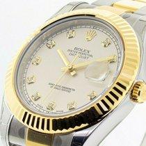 Rolex Datejust II Acero y oro 41mm Blanco
