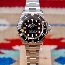 Rolex Sea-Dweller Deepsea Stahl 44mm Schwarz Keine Ziffern Schweiz, Genève et Paris