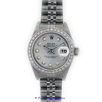 Rolex Lady-Datejust pre-owned 26mm Silver Date Steel
