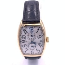 Franck Muller Master Banker Yellow gold 34mm White Arabic numerals United States of America, Florida, Fort Lauderdale