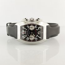 Franck Muller Chronograph 35mm Automatic pre-owned Conquistador Black