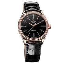 Rolex CELLINI TIME rose gold Black dial