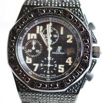 Audemars Piguet Offshore Steel Custom Black Diamond Set Black PVD