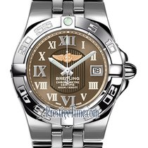 Breitling Steel Quartz Bronze 30mm new Galactic 30