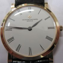 Vacheron Constantin Red gold Manual winding White Roman numerals 32mm pre-owned