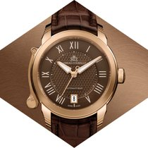 Lebeau-Courally Rose gold 38mm Automatic LC09-11-C6-D03 new