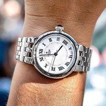 Tudor CLAIR DE ROSE 34MM White Dial-Steel Bracelet-Roman Numerlas