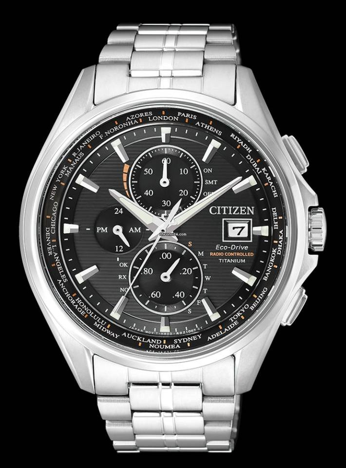 citizen eco drive radio controlled world time manual