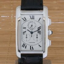 Cartier Tank Americaine Chronograph W2603356 - Boxed Papers...