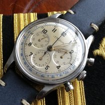 Lemania Military Chronograph 27 CH Omega 321 - 2451 US Navy