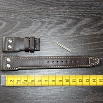 IWC 22mm brown braun leather leder strap band Big Pilot (new)