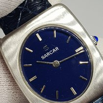 Sarcar 29mm Manual winding pre-owned Blue