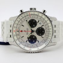 Breitling AB0121211G1A1 Staal Navitimer 1 B01 Chronograph 43 43mm nieuw