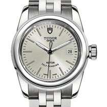 Tudor Glamour Date Steel 26mm Silver