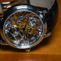 Maurice Lacroix 43mm Manual winding 2011 pre-owned Masterpiece (Submodel) Transparent