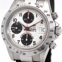 Tudor Tiger Prince Date Steel 40mm White No numerals