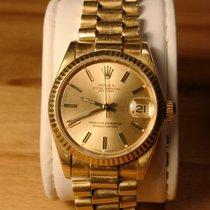 Rolex Datejust (Submodel) μεταχειρισμένο 31mm Κίτρινο χρυσό