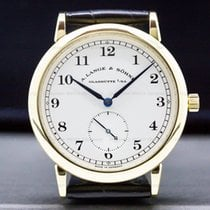 A. Lange & Söhne 36mm Manual winding pre-owned 1815 Silver