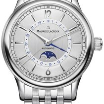 Maurice Lacroix Stål 40mm Automatisk LC6168-SS002-120-1 ny