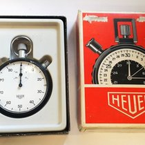 Heuer Watch pre-owned 1980 53mm Arabic numerals Manual winding Watch with original box