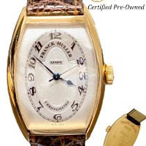 Franck Muller Yellow gold Automatic Silver Arabic numerals 32mm pre-owned