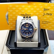 Breitling Galactic 41 Gold/Steel 41mm Blue