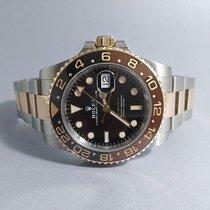 Rolex GMT-Master II Gold/Steel 40mm Black Finland, Seinäjoki