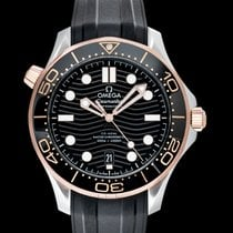 Omega Seamaster Diver 300 M Rose gold 42mm Black United States of America, California, San Mateo