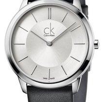 ck Calvin Klein Ατσάλι 35mm Χαλαζίας K3M221C6 καινούριο