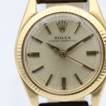 Rolex Yellow gold Automatic Gold (solid) No numerals 26mm pre-owned Oyster Perpetual 26