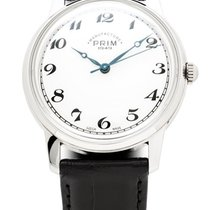 Prim Steel 39mm Manual winding Prim Manufacure 1949 - Hiroshima L.E. new