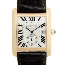 Cartier Tank MC Rose gold 34.3mm White