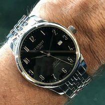 Tissot Le Locle Staal 47mm Zwart