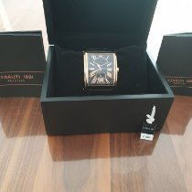 Cerruti Steel 42mm Quartz CT100771s02 pre-owned