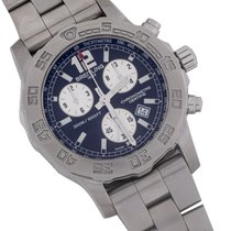 Breitling Colt Chronograph II Steel 44mm Blue No numerals