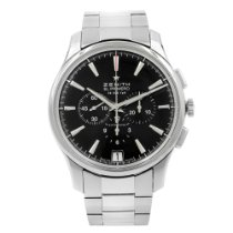 Zenith Captain Chronograph Steel 42mm Black United States of America, New York, New York