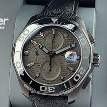TAG Heuer Aquaracer 300M Titanium 43mm Black No numerals