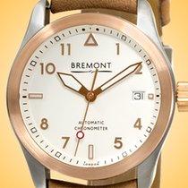 Bremont Gold/Stahl 37mm Automatik SOLO-37/RG/R