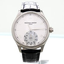 Frederique Constant Horological Smartwatch Staal 42mm Wit Romeins