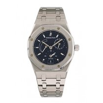 Audemars Piguet Royal Oak Dual Time Сталь 36mm Синий