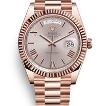 Rolex Day-Date 40 Or rose 40mm Argent France, Paris