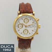 Lucien Rochat Gult guld 38mm Automatisk ny