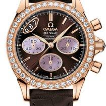 Omega De Ville Co-Axial Rose gold 35mm Brown