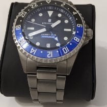 Steinhart pre-owned Automatic 42mm Black Sapphire crystal 50 ATM