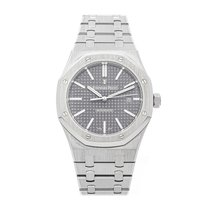 Audemars Piguet Royal Oak Selfwinding Steel 41mm Grey No numerals