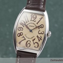 Franck Muller pre-owned Automatic 34.5mm Champagne Sapphire crystal