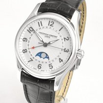 Frederique Constant Runabout Moonphase Steel 43mm Silver