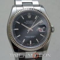 勞力士 Oyster Perpetual Datejust Noir  116234 Carte Rolex + Pochett