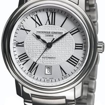 Frederique Constant Classics Automatic Steel 42.8mm Silver United States of America, New York, Brooklyn